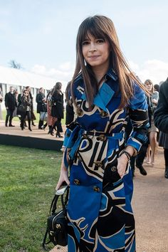 Style roundup best looks from London 24.2.15 - Miroslava Duma in Burberry