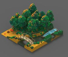 Image result for magic voxel tree