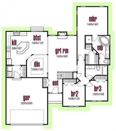 Super house plans one story 1700 sq ft offices 28 ideas Square House Plans, Metal House Plans, House Plans One Story, Ranch House Plans, Cottage House Plans, Craftsman House Plans, Best House Plans, Modern House Plans, Small House Plans