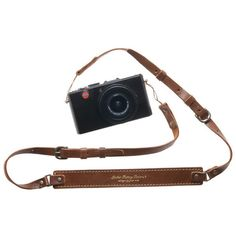 Leather Camera Straps ❤ liked on Polyvore featuring accessories, tech accessories, camera and fillers