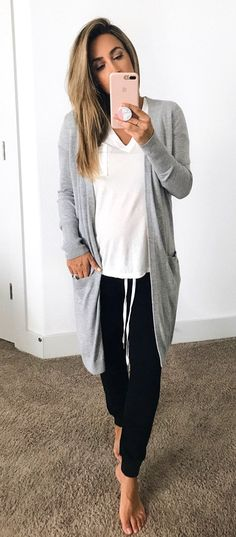 Summer  Outfits   White T Shirt + Black Pants Lazy Day Outfits 7e48a2313