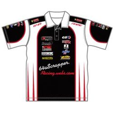Race Team Polo Shirts | Design Your Own Sublimated Team Apparel | Captivations Sportswear | Custom sportswear and apparel supplier