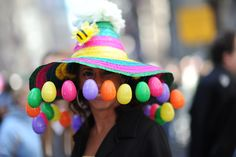 Fashion Highlights From New York's Easter Bonnet Parade 2012 - Heard on the Runway - WSJ