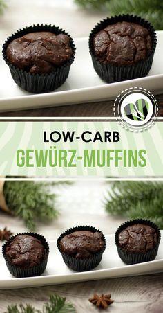 Die low-carb Gewürzmuffins sind lecker und saftig. Zu dem schmecken sie nicht nur im Winter.
