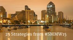 """""""25 Strategies I learned at Social Media Marketing World 2015"""" #SMMW15 in San Diego rocked and there were so many strategic takeaways that you can implement immediately..."""