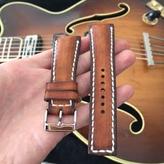 Watch Straps, Handmade Leather, Calf Leather, Calves, Belt, Watches, Luxury, Brown, Accessories