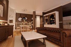 Interior design project for Goya Intercontinental. Parisian living and dinning rooms. #interiordesign #parisian