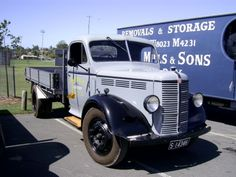 1949 Bedford M with Holden Cab in Australia