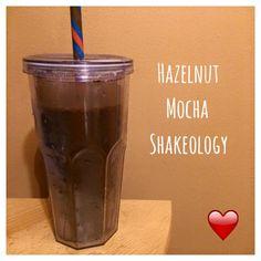 Di's Food Diary 21 Day Fix Approved Recipe = Hazelnut Mocha Shakeology