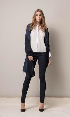 Mavi Adriana mid rise super skinny jeans | shop the Fall Collection