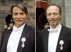 Lars and Mads Mikkelsen were both knighted by the Queen... | ♛