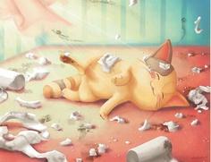 Children Comic Illustrations by Anne Patzke