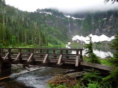 Lake Twentytwo: Nice leisurely hike with beautiful views the whole way.  Lots of water on trail and snow at the summit.