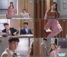 eun hyuk caught bong hee peeking at ji wook in the trial - Suspicious Partner: Episode 5 & 6 korean drama