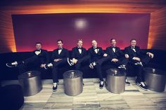 How adorable is the photo of the #groomsmen! Photo by Jeannine. #MinneapolisWeddingPhotographer