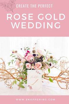 Romantic Rustic Rose Gold Wedding Shoot featured by Snappening Wedding Shoot, Gold Wedding, Rustic Wedding, Romantic Roses, Chapel Wedding, Event Venues, Unique Weddings, Wedding Designs, Wedding Planning