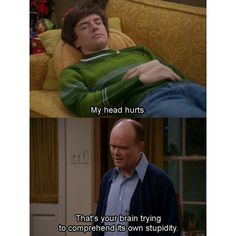 that 70's show | Tumblr ❤ liked on Polyvore featuring pictures, funny, that 70s show, quotes, subtitles, text, phrase и saying