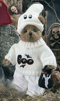 "Bearington Bears ""Duke McSpook"" 10"" Collector Bear- Sku#1808- NWT- 2005 #BearingtonBears"