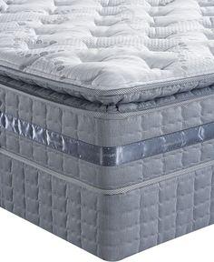 Serta Perfect Sleeper Elite Peaceful Bay Pillowtop Plush California King Mattress Set