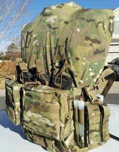 TSAR Technical Search & Rescue chest rig with 4 M4 magazines from Extreme Gear Labs...
