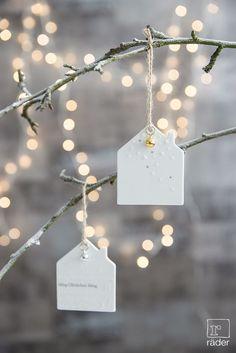 36 ideas diy christmas tree ornaments shape for 2019 Clay Christmas Decorations, Christmas Love, Winter Christmas, Christmas Tree Ornaments, Christmas Crafts, Christmas Houses, White Ornaments, Natural Christmas, House Decorations