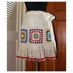 Edna Vêtements Crochet: carrés crochet vêtements