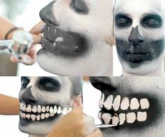 Maquiagem de Halloween para homens: caveiras e outras fantasias em dois minutos!
