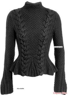 Пуловер с картинки.