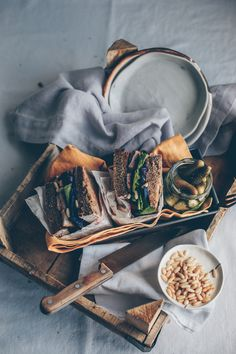 ... russian inspired rye bread sandwich (vegan) ... Is there anything better, healthy and yummy......if you are going to eat bread!!!