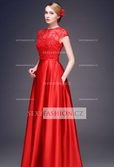 f78db1cb13b6 Luxusní maturitní růžové šaty z řady DB 2504-004 (7)