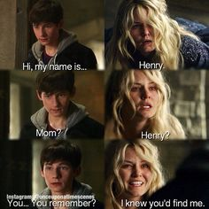 This was so touching. Emma looked so pretty when she smiled at seeing her son.