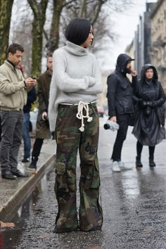 "meoutfit : meoutfit # 1654 ""Camouflage Cargo - Milano"""