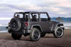 The 2014 Jeep Wrangler starts at $23,390, reflecting no price increase over the outgoing model.