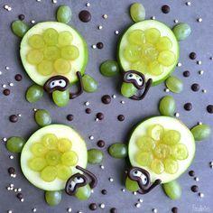 Snorkeling apple turtles by @foodbites