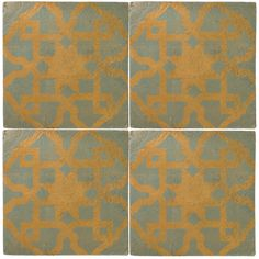 Asni - Glazed & Decorated - Shop by tile type - Wall & Floor Tiles | Fired Earth