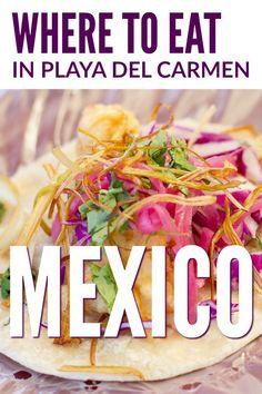 Local Pick: Playa del Carmen Restaurants ~ http://www.baconismagic.ca