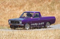 Mad Dat Small Trucks, Mini Trucks, Old Cars, Cars And Motorcycles, Nissan, Old School, Monster Trucks, Wheels, Vehicles