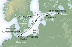 Cruise - northern europe - Germany,Sweden,Estonia,Russian Federation,Denmark