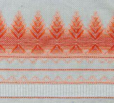 Mystery solved!  Swedish weaving.