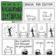 My Life As A Background Slytherin Harry Potter Comics, Harry Potter Jokes, Harry Potter Anime, Sirius Black, Background Slytherin, Yer A Wizard Harry, Slytherin Pride, Harry Potter Universal, Oui Oui