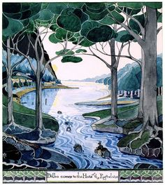 Happy Birthday, J.R.R. Tolkien: The Iconic Storyteller's Little-Known, Gorgeous Art | Brain Pickings