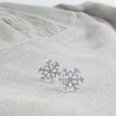 These Sterling Silver Snowflake Ear Studs cry out to be worn throughout all of the seasons not just winter, perfect for adding a dash of sparkle. Ear Studs, Earring Studs, Stud Earrings, Little Snowflake, Christmas Snowflakes, Unique Gifts, Women Jewelry, Sterling Silver, Cry