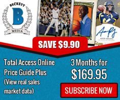 Subscribe and Save $9.90 on 3 Month Total Access Online Price Guide Plus For $169.95