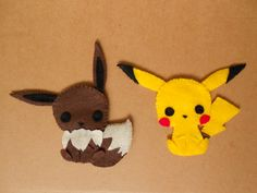 Pikachu and Eevee by chococat830 on deviantART
