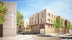 SOA Architects Paris > Projects > ÎLOT HOCHE 2.3 B