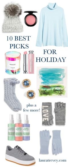 10 Best Picks For Holiday! | Laura Trevey Lifestyle