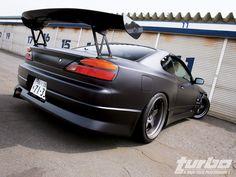 Matte black Silvia My Dream Car, Dream Cars, Nissan S15, Domestic Disturbance, Silvia S15, Rauh Welt, Nissan Silvia, Import Cars, Jdm Cars