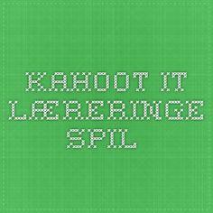 kahoot.it - læreringe spil...