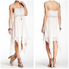 New Free People White slip New Free People White  Slip size S Free People Dresses