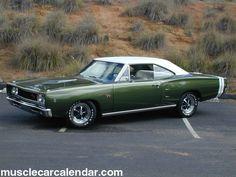 1968 Dodge Coronet R/T / 440 Magnum (Chrysler) #Green